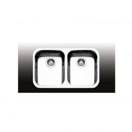 Διαστάσεις: Εξωτερική: 76x45 Εσωτερική: 71x40 Βάθος: 18 cm Ερμάριο: 80cm Συμπεριλαμβάνονται βαλβίδες, σωληνώσεις & λιποσυλλέκτης