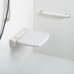 Κωδικός: 530-4FA-UHS-01 Περιγραφή: Ανακλινόμενο κάθισμα τοίχου, 42x40 εκ. Κατασκευαστής: Ponte Giulio Σειρά: Paint Υλικό: Χάλυβας FE 37 με επίστρωση Rilsan Φινίρισμα: λευκό