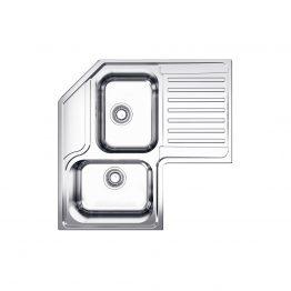 Διαστάσεις: 83x83x50 cm Βάθος: 21 cm Ερμάριο: 90x90 cm Συμπεριλαμβάνονται βαλβίδες, σωληνώσεις & λιποσυλλέκτης