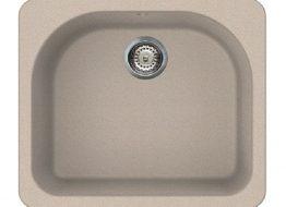Γρανιτένιος Νεροχύτης με 1 γουρνα Διαστάσεις: 58 × 50 cm Βάθος: 22 cm Περίμετρος οπής: 58 × 50 cm Ερμάριο: 60 cm Περιλαμβάνει κομπλέ σιφώνια και βαλβίδες, 35 χρόνια εγγύηση