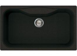 Γρανιτένιος Νεροχύτης με 1 γουρνα Διαστάσεις:86 × 50 cm Βάθος: 21 cm Περίμετρος οπής: 84 × 48 cm Ερμάριο: 90 cm Περιλαμβάνει κομπλέ σιφώνια και βαλβίδες, 35 χρόνια εγγύηση