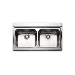 Διαστάσεις: 89,7x51cm Βάθος: 22 cm Ερμάριο: 90cm Προετοιμασμένος για μπαταρία. Συμπεριλαμβάνονται: 2 x κρύσταλλα συρόμενα White ή Silver ή Black 2 x 'αόρατες' βαλβίδες, σωληνώσεις & λιποσυλλέκτης