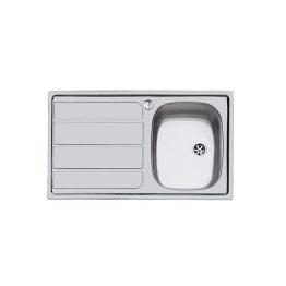 Διαστάσεις: 86 X 50 cm Κοπή Πάγκου: 84 X 48 cm Βάθος: 17 cm Ερμάριο: 45 cm