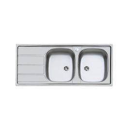 Διαστάσεις: 116 X 50 cm Κοπή Πάγκου: 114 X 48 cm Βάθος: 16 cm Ερμάριο: 90 cm